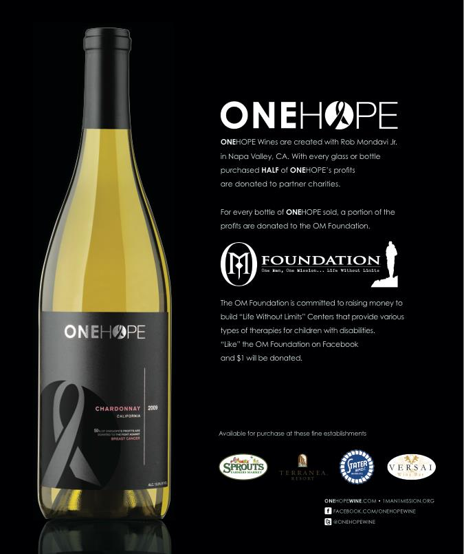 ONEHOPE Wine Fundraiser