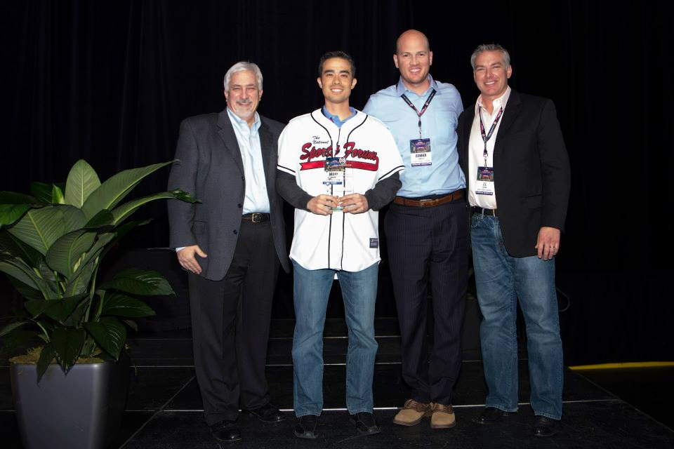 Inaugural OM Foundation Award Presented at the 2014 National Sports Forum